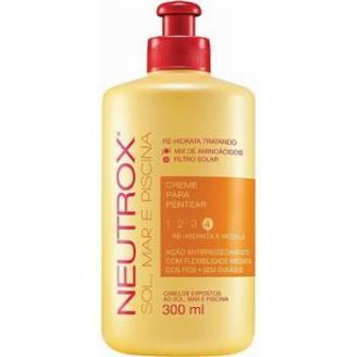 Creme Para Pentear Neutrox Sol, Mar e Piscina