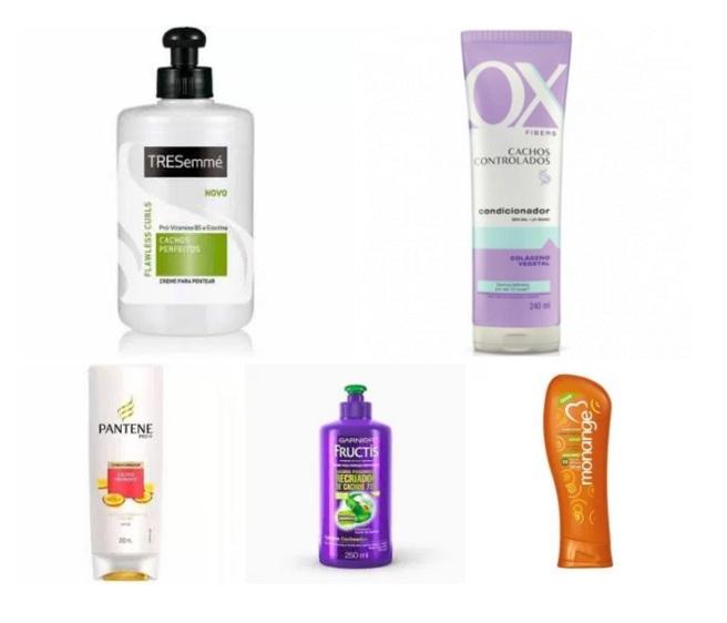 produtos de cabelo - transição capilar