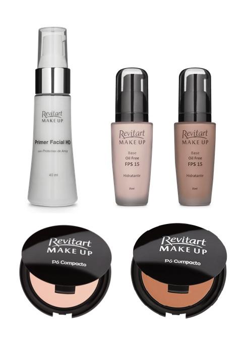 revitart make up - farmacias associadas - maquiagem para o dia todo