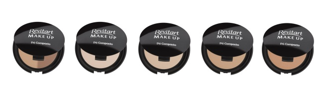 linh revitart make up - pó compacto
