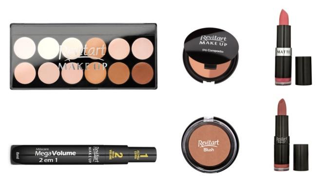 selfie perfeita - produtos revitart make up - farmacias associadas
