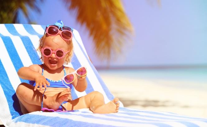 protetor solar aerossol crianças