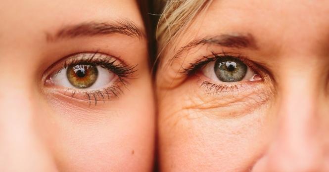 pele do rosto em cada idade