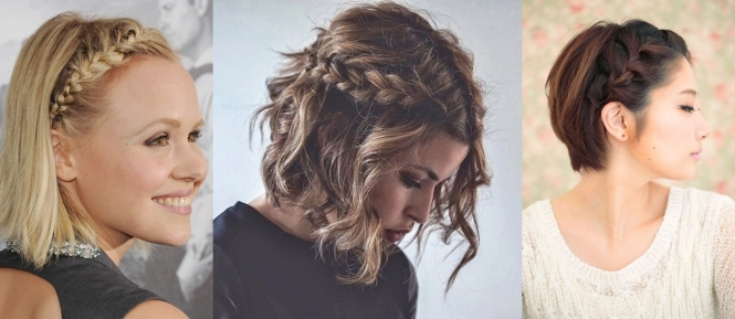 tranças cabelos curtos e médios