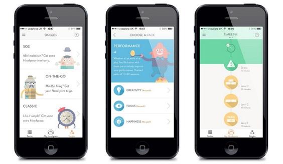 headspace apps de saúde