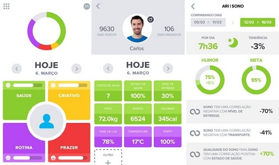 optimizeme apps de saúde