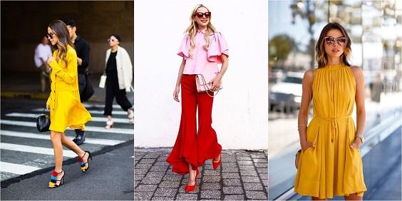 moda verão 2018 cores 2018