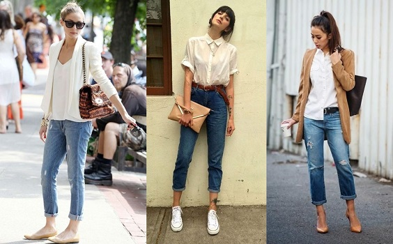 looks com jeans barra dobrada