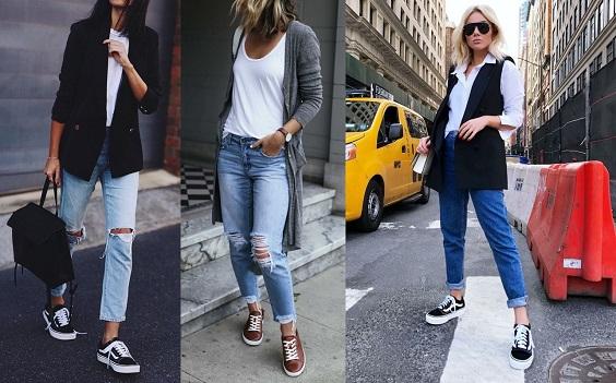 looks com jeans terceira peça
