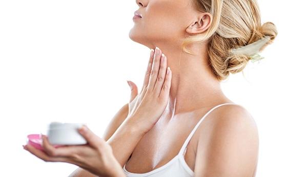 cuidados com a pele do pescoço e colo