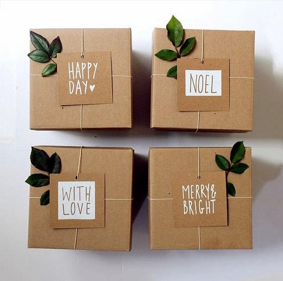 ideias de embalagens de natal