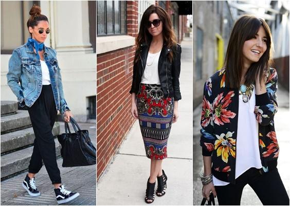 jaquetas looks de meia-estação