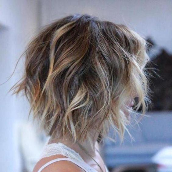 cabelo com textura tendência