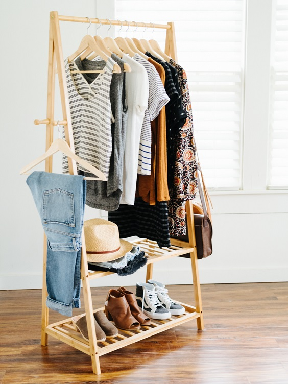 armário cápsula como se vestir bem