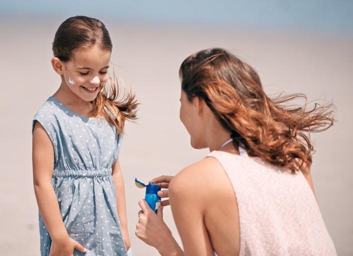 dicas proteger crianças do sol