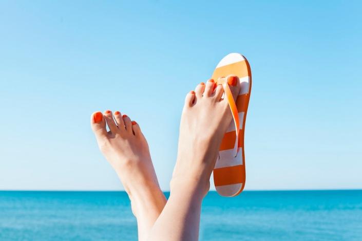 cuidados para pés saudáveis