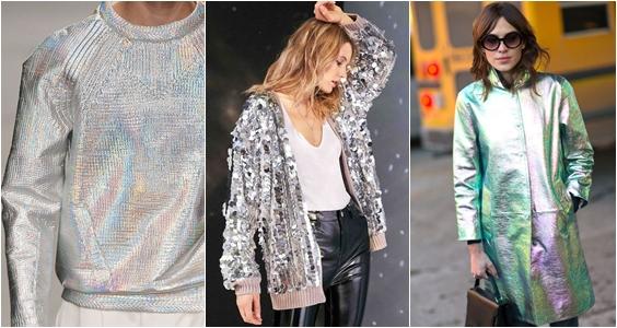tendência 2019 prata e brilhos