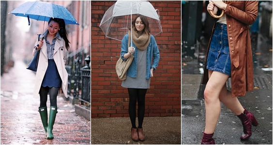 roupas dia de chuva