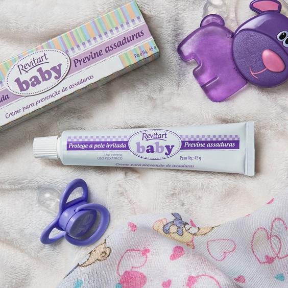 creme para prevenção de assaduras revitart baby
