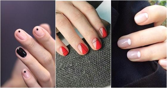 nail art minimalist