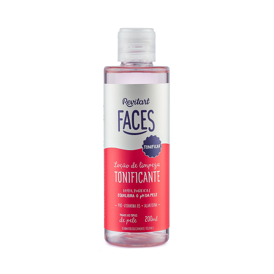 Revitart Faces Locao de Limpeza Tonificante 200ml