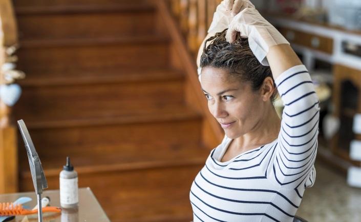 como pintar o cabelo em casa