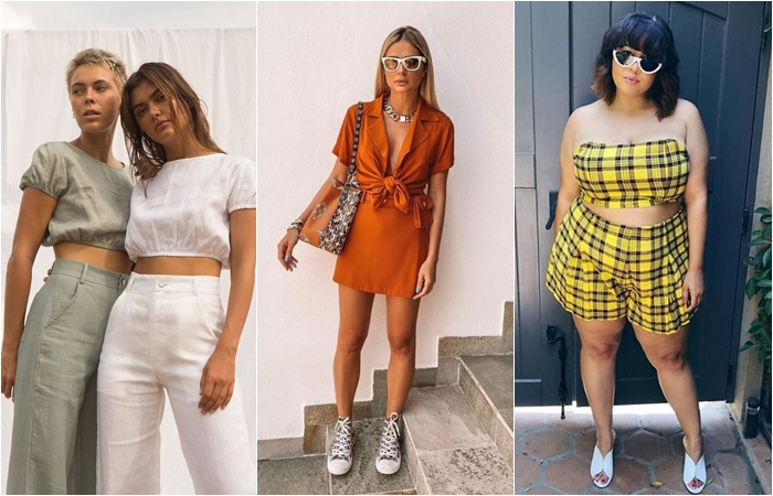 tendência de moda conjunto