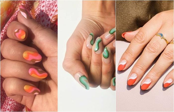 nail art ondas